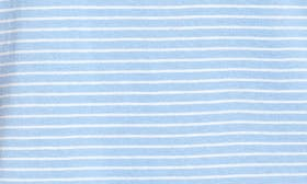 Blue- White Aubrey Stripe swatch image