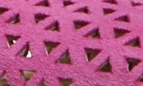 Hot Pink Perforated swatch image
