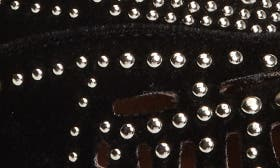 Black/ Silver Velvet swatch image