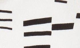 Ivory- Black Geo swatch image