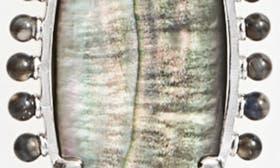 Black Mop/ Silver swatch image