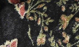 Black Multi Velvet swatch image