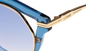 Blue Clear/ Indigo Mirror swatch image