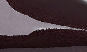 Wine Patent Leather swatch image