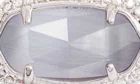 Slate Cats Eye/ Silver swatch image
