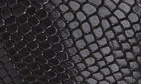 Black Snake Leather swatch image