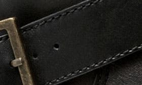 Black Smooth Leather swatch image