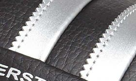 Black/ Metallic Silver swatch image