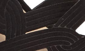 Black Faux Suede swatch image