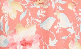 Coral Floral swatch image