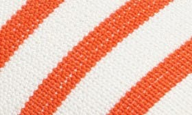 Coral Stripe Fabric swatch image