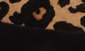 Black Suede/Leopard Hair Calf swatch image