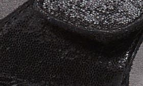 Uptown Black Leather swatch image