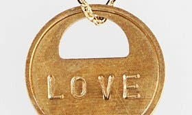 Love/ Gold swatch image