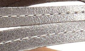 Pewter Sahara Leather swatch image