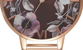 Rose Gold/ Brown/ Floral swatch image