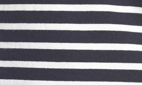 Navy/ Ivory Stripe swatch image selected