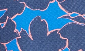 Blue- Navy Wild Floral swatch image