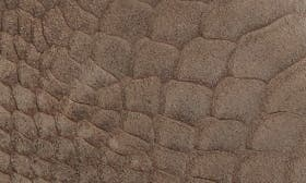 Khaki Matte Snake Leather swatch image
