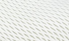 White Textured Leather swatch image