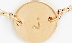 14K Gold Fill J swatch image