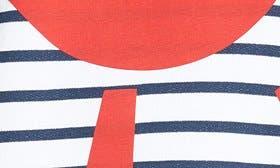 Navy Breton Stripe swatch image