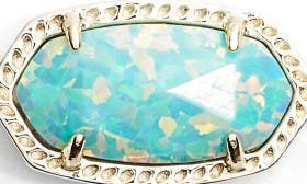 Aqua Kyocera Opal/ Gold swatch image