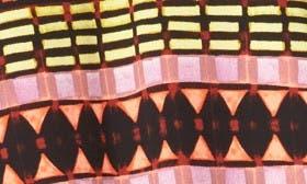 Black- Purple Grid swatch image
