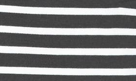 Black/ Ivory Stripe swatch image