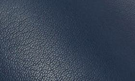 Midnight Navy Leather swatch image