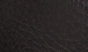 Black Grain Leather swatch image