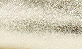 Gold Metallic Soft Nappa swatch image