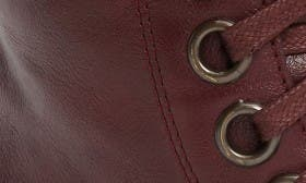 Burgundy Faux Leather swatch image
