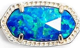 Royal Blue Kyocera Opal/ Gold swatch image