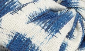 Blue Gingham Print Fabric swatch image