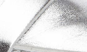 Silver Metallic Leather swatch image selected