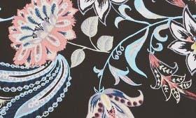 Black/ Blue Paisley Floral swatch image