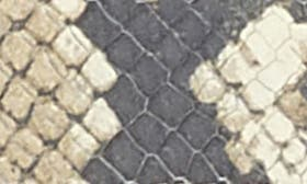 Roccia Snake Leather swatch image