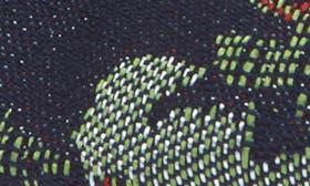 Dark Blue Denim Brocade swatch image
