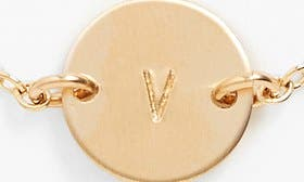 14K Gold Fill V swatch image