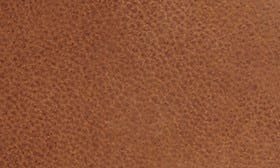 Whiskey Brown Leather swatch image