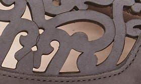 Charcoal Nubuck Leather swatch image