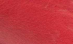 Red/ Tan Leather swatch image