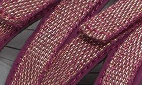 Dark Purple/ Gold Fabric swatch image