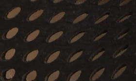 Black Nubuck Leather swatch image selected