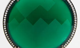 Emerald Green/ Blk Rhodium swatch image