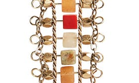 Coral Multi- Gold swatch image