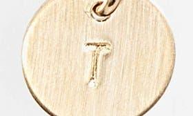 Gold Fill Garnet T swatch image