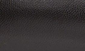 Black/ Black Leather swatch image