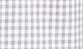 White Heather Grey Gingham swatch image